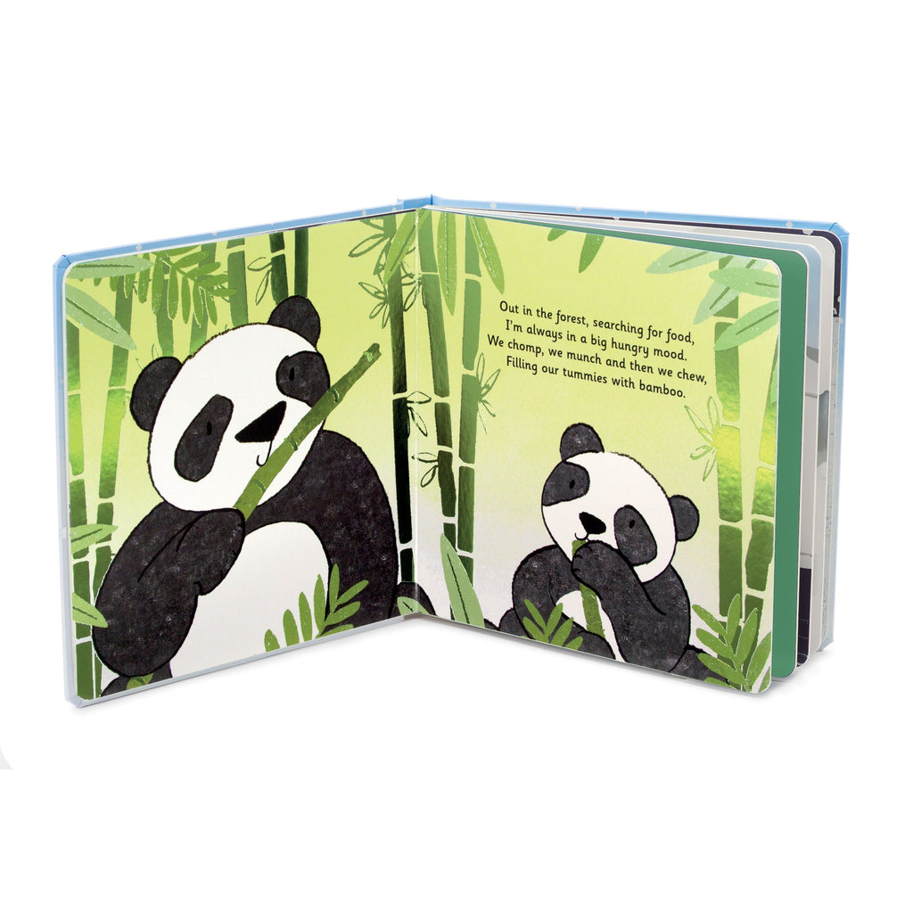 JellyCat - Panda Board Book