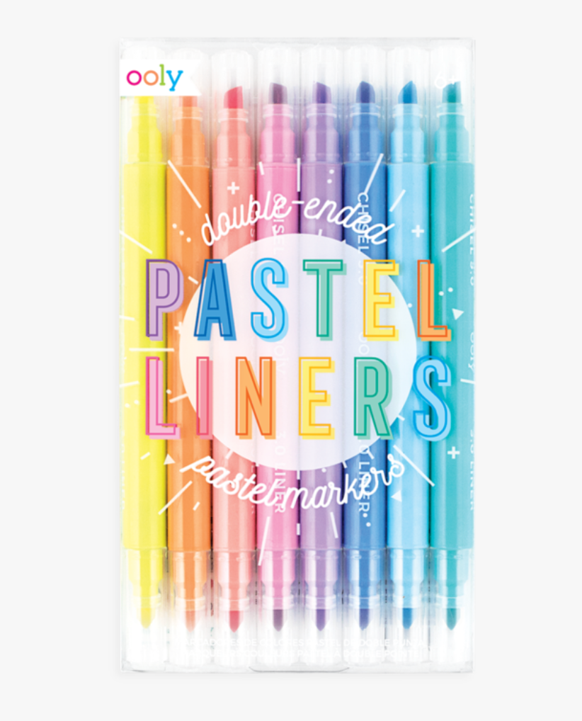 Ooly- Pastel Liners Dual Tip Markers