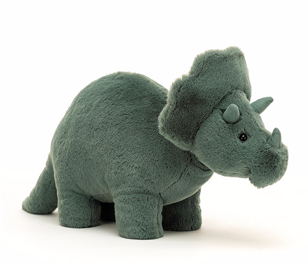 JellyCat- Fossily Triceratops