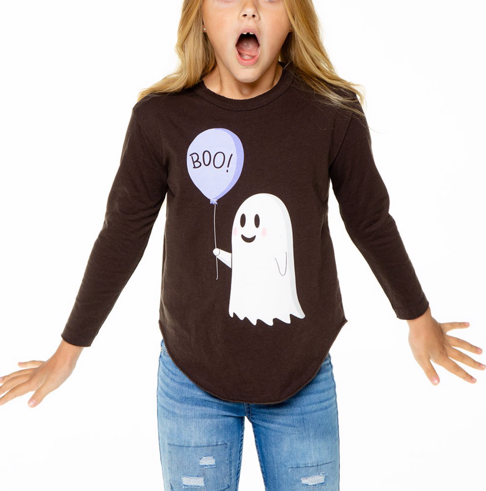 Chaser- Happy Ghost Long sleeve Tee