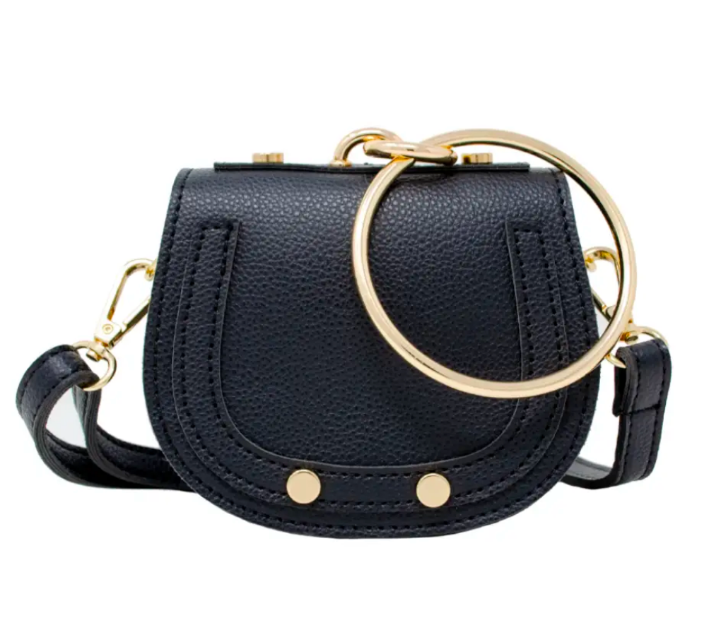 Tiny Bracelet Bag - Black
