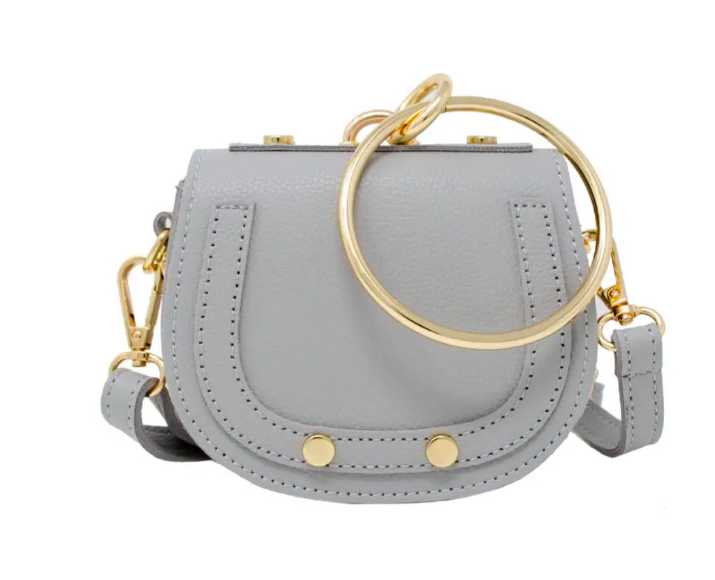 Tiny Bracelet Bag - Gray