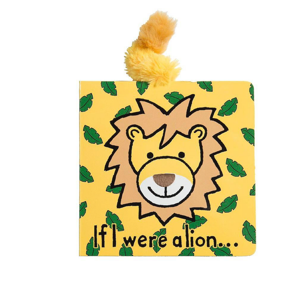 JellyCat- If I Were a Lion Book