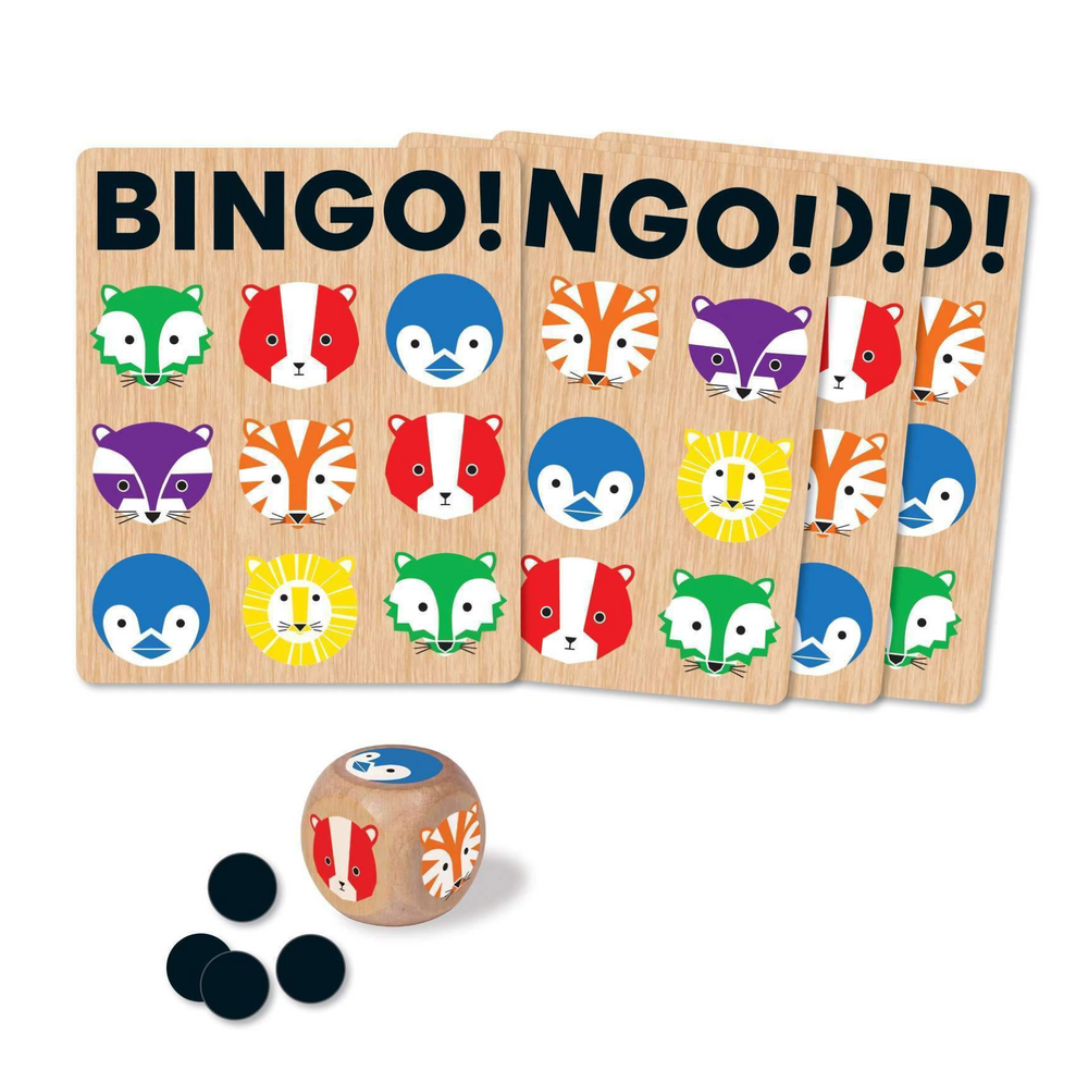 Hachette- Mudpuppy Geometric Animals My First Bingo