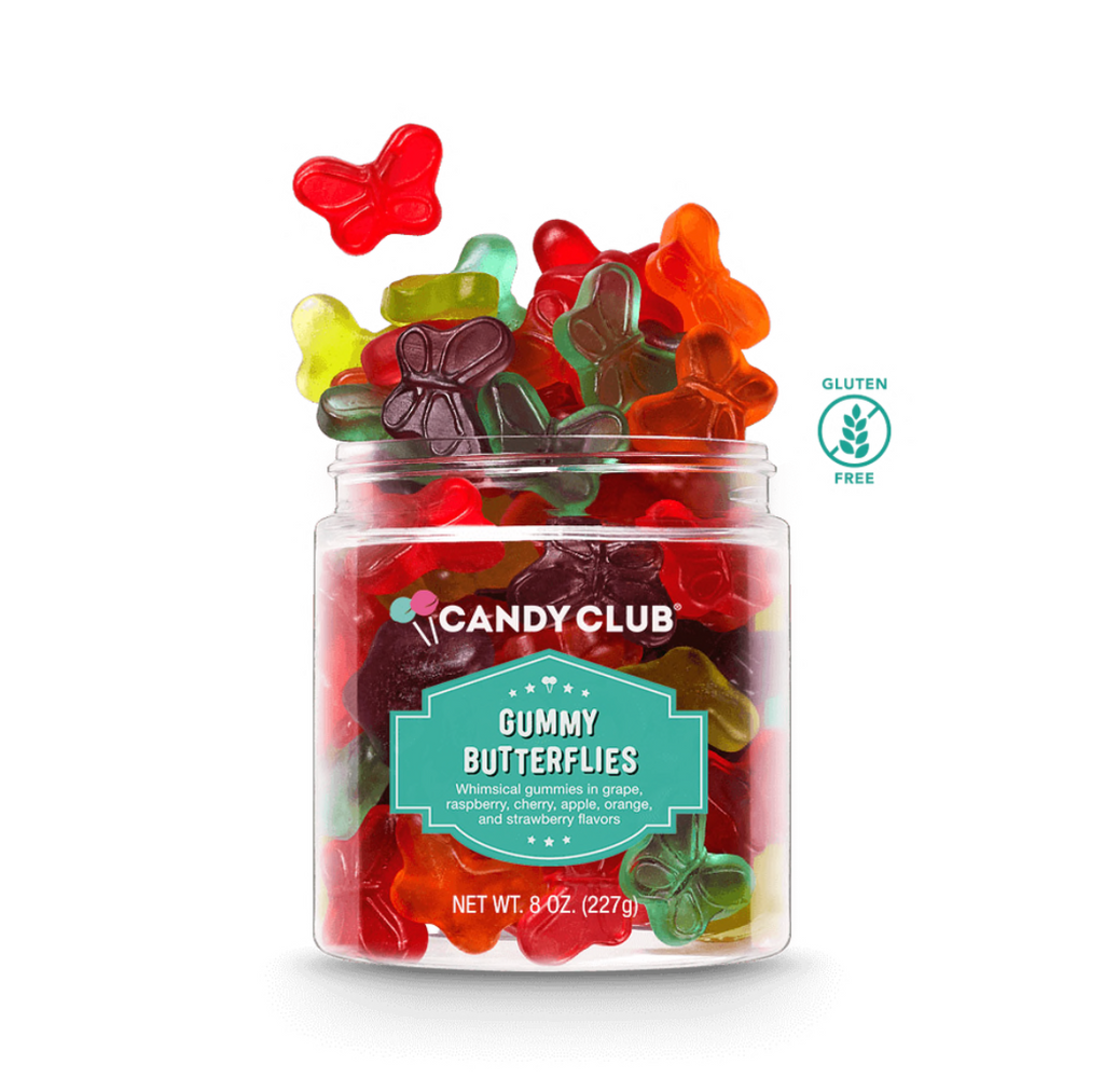 Candy Club- Small Gummy Butterflies
