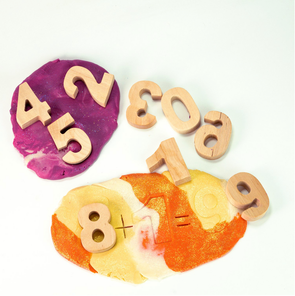 Land of Dough- Learning Numbers Kit
