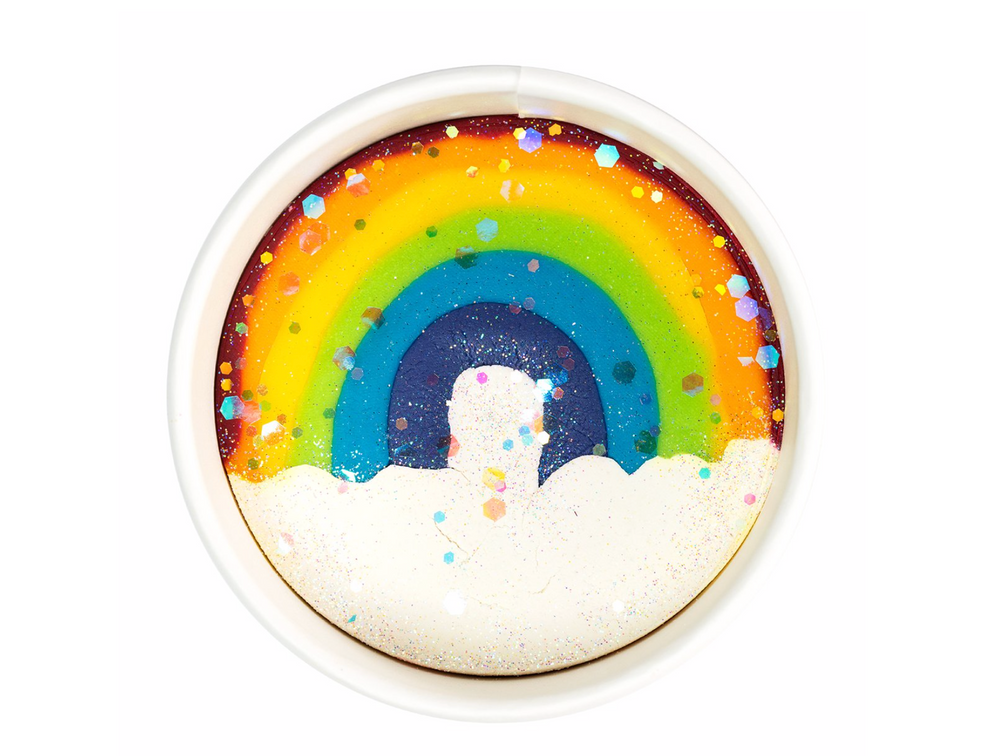 Land of Dough- Over The Rainbow Luxe Dough Cup