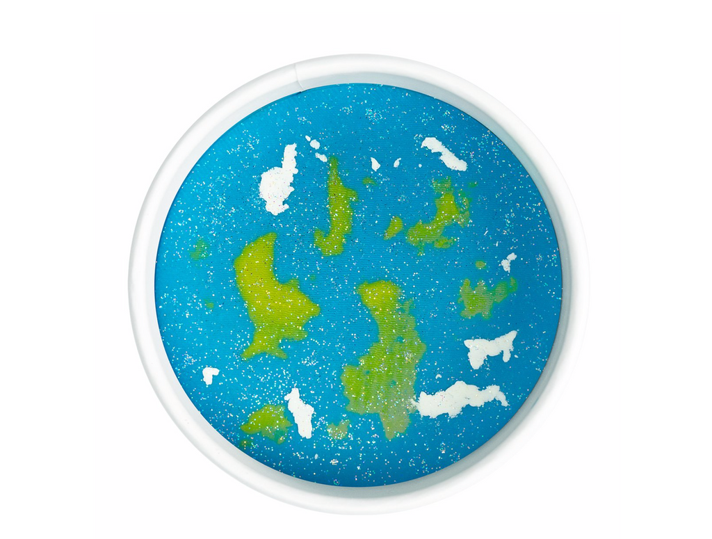 Land of Dough- Planet Earth Luxe Dough Cup