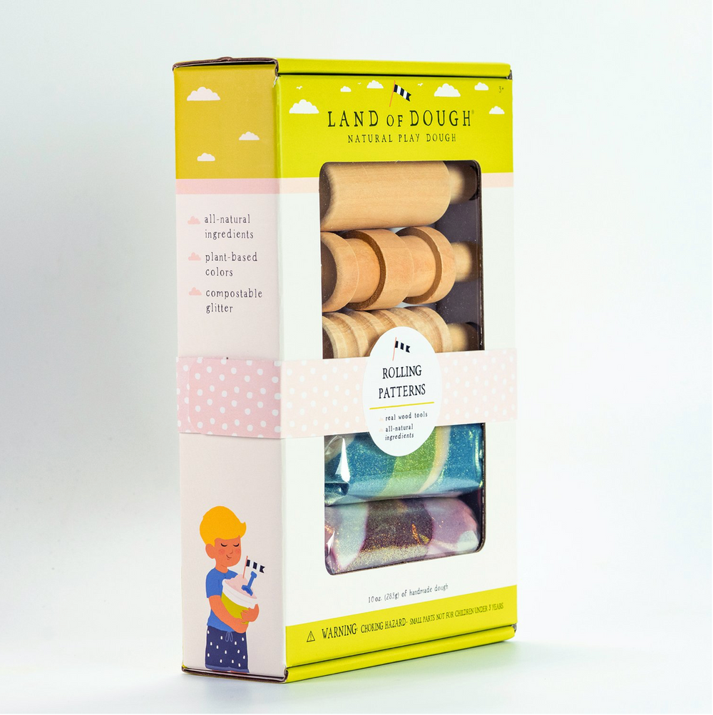 Land of Dough- Rolling Patterns Kit