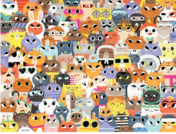 Crocodile Creek - Lots Of Cats: 500-pc Boxed Puzzle
