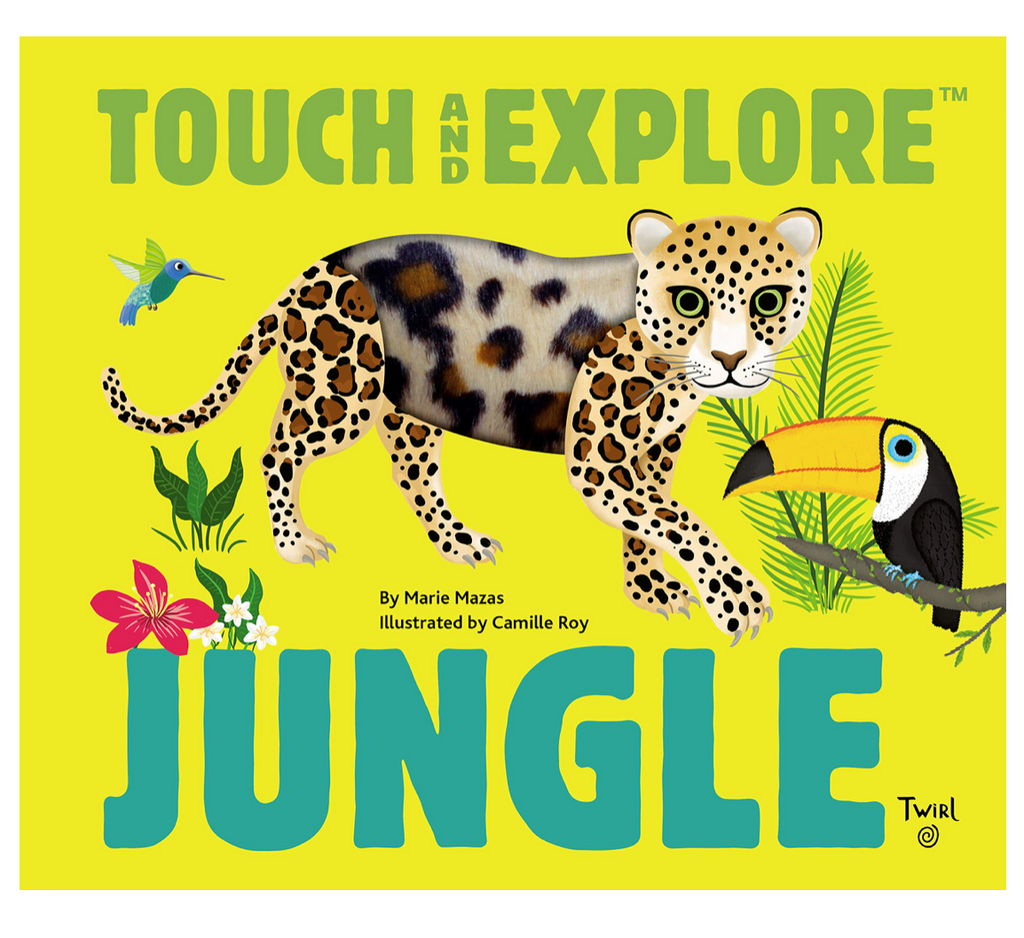 Hachette - Touch & Explore: Jungle
