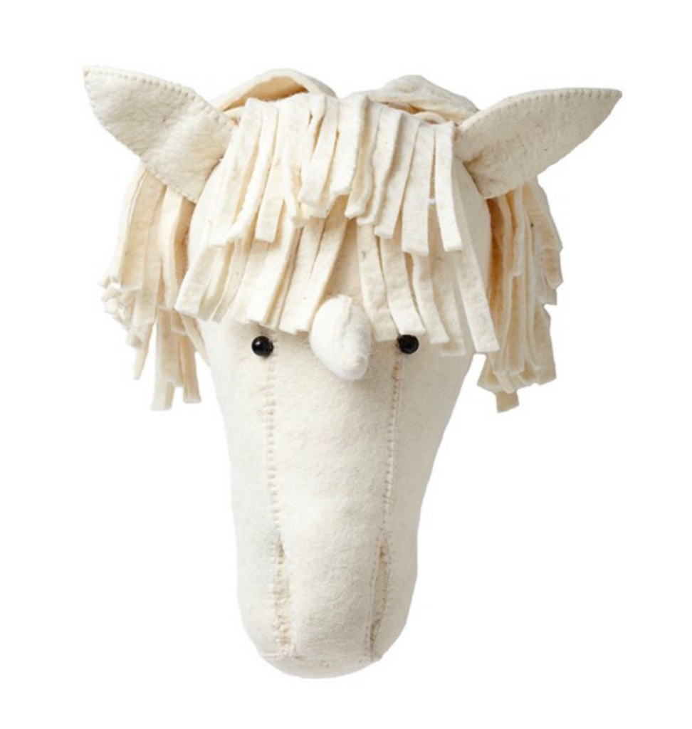 Fiona Walker - Felt Head - Unicorn