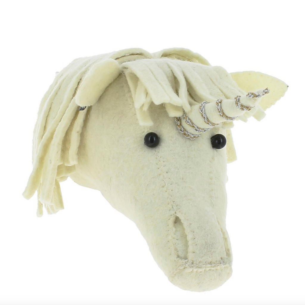 Fiona Walker - Felt Head - Mini Baby Unicorn