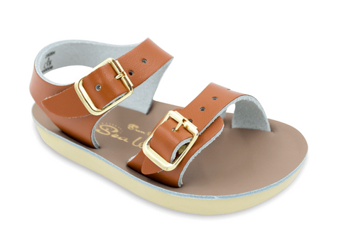 Salt-Water Sandals - The Sun San Sea Wee - Tan