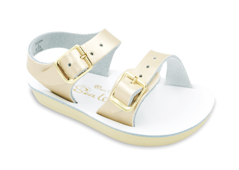 Salt-Water Sandals - The Sun San Sea Wee - Gold
