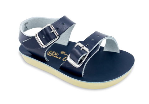 Salt-Water Sandals - The Sun San Sea Wee - Navy