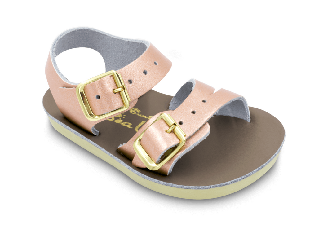 Salt-Water Sandals - The Sun San See Wee - Rose Gold