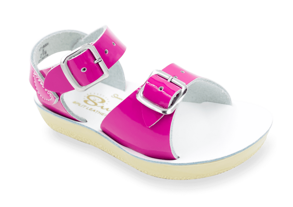 Salt-Water Sandals - The Sun San Surfer - Shiny Fuchsia