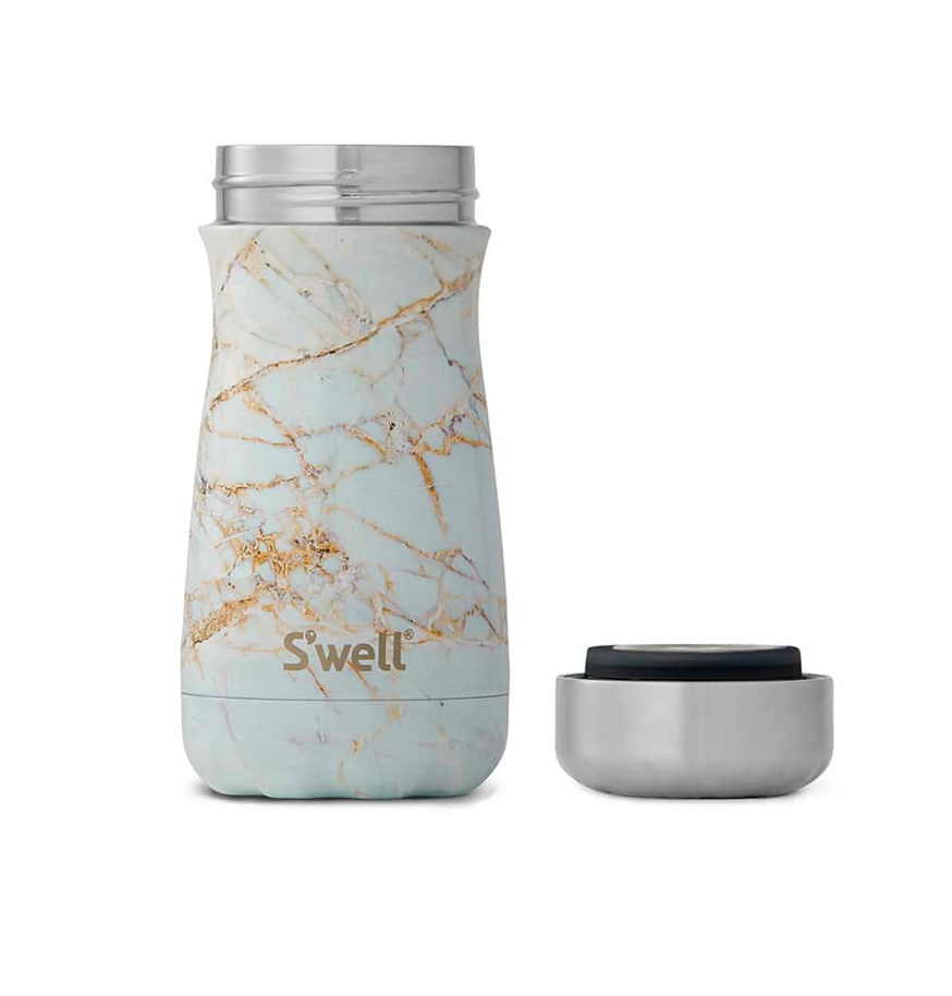 Sip by S'well - Calacatta Gold Traveler - 12oz