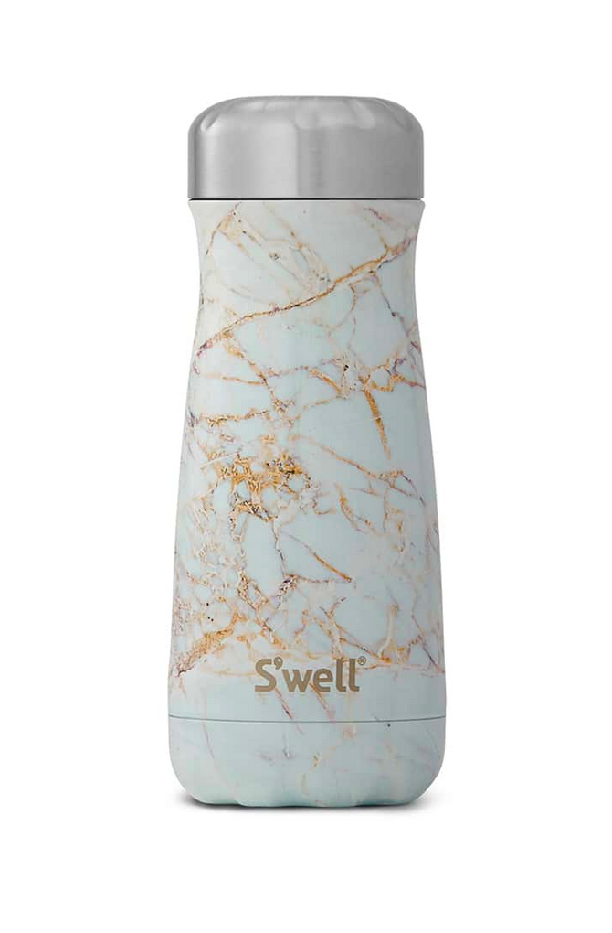 Sip by S'well - Calacatta Gold Traveler - 16oz