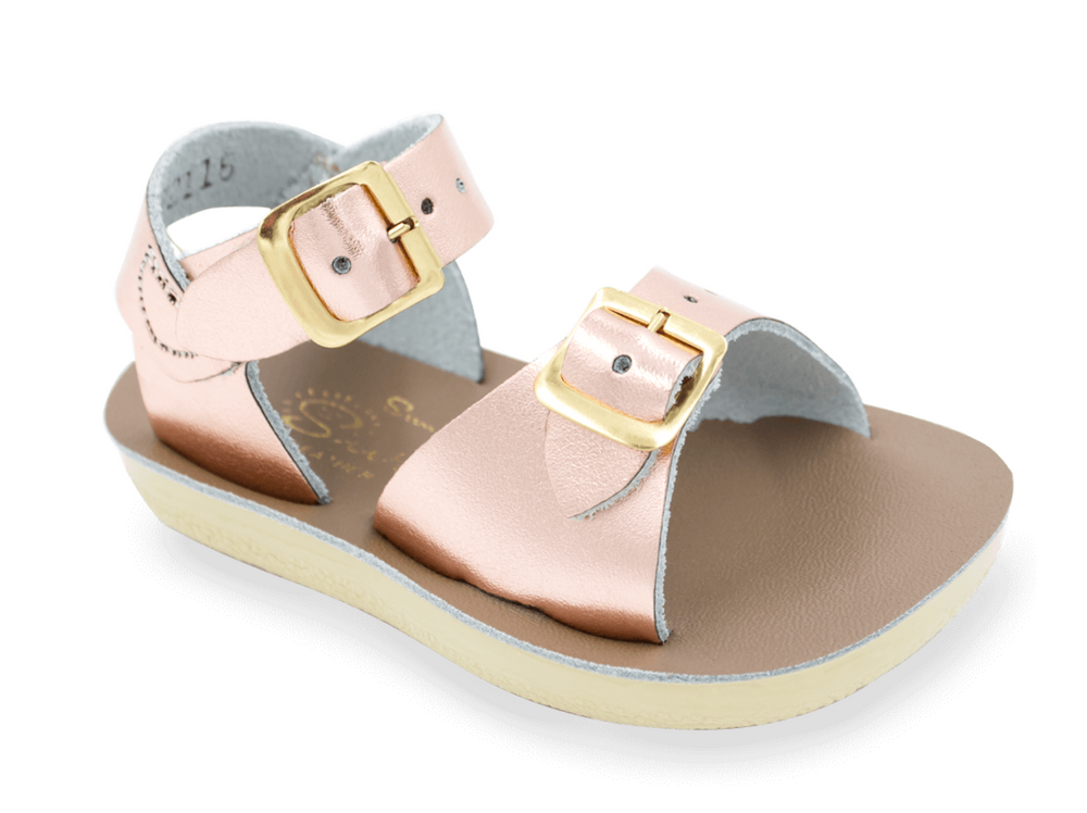 Salt-Water Sandals - The Sun-San ­Surfer - Rose Gold