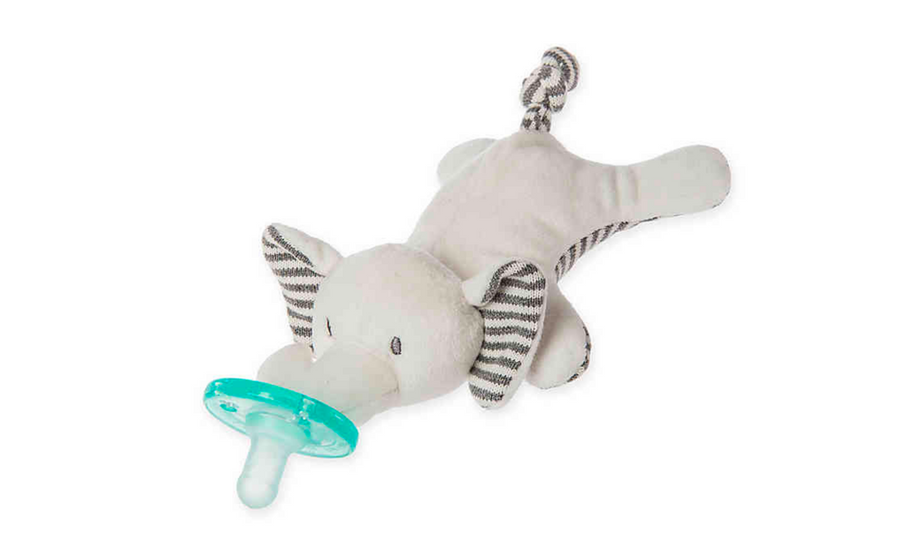 Mary Meyer - WubbaNub™ Grey Elephant Infant Pacifier