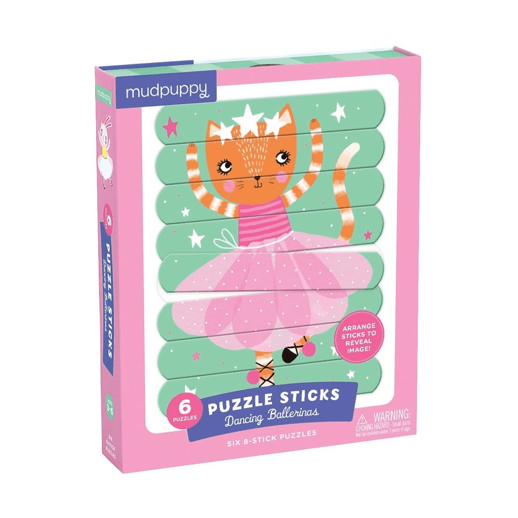 Hachette - Puzzle Sticks: Dancing Ballerinas