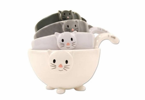 cat measuring cups cute cat gift