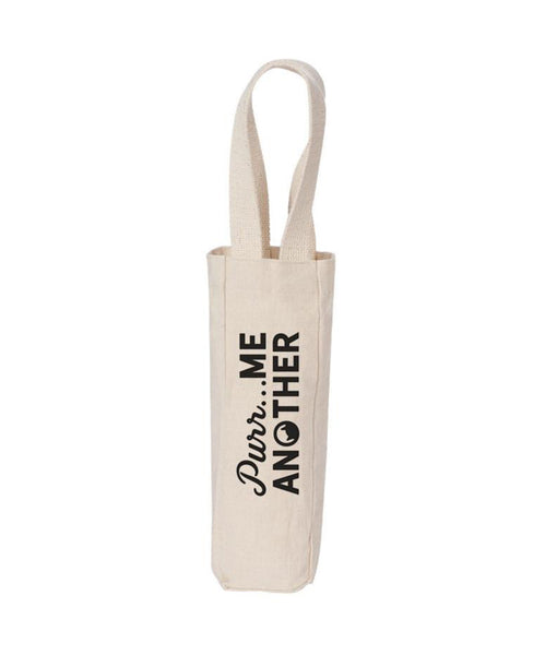Purr Me Another Wine Tote