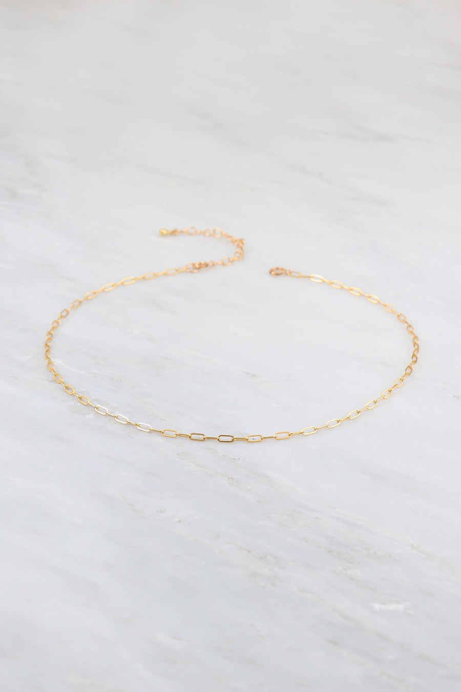 Delicate Gold Choker, Simple Choker Necklace, Chain Choker Necklace, Minimalist Choker, Gold Filled Choker Chain, Jewelry Gift for her