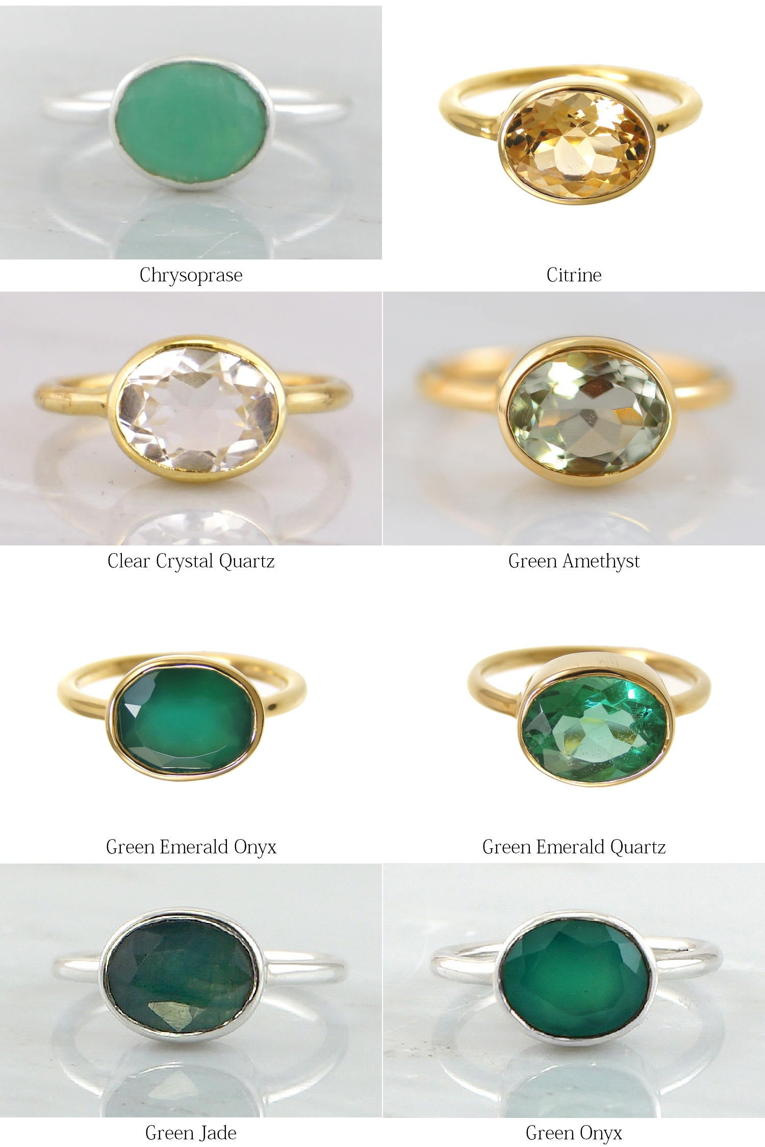 Natural Green Copper Turquoise+Peridot+Amethyst+Citrine Gemstone Ring Cabochon /& Cut Stone AND Combo Ring Handmade Silver Ring ETSYCYBER2018
