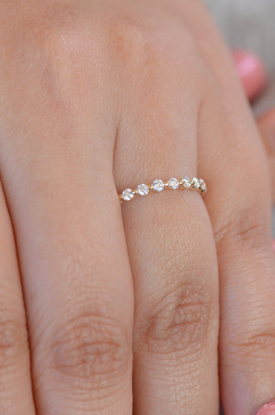 Diamond Anniversary ring, Eternity ring