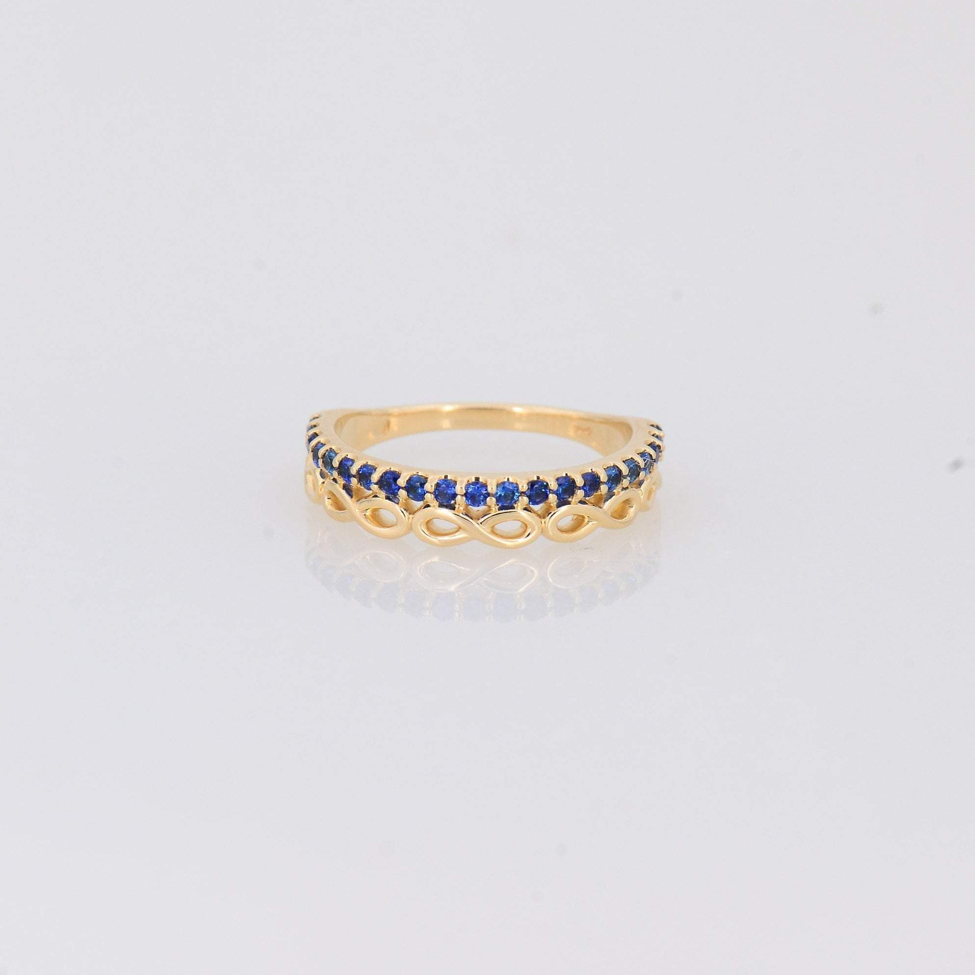 Blue Sapphire Ring, Sapphire Engagement Ring