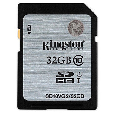 Kingston 32G SD card  - TheDashCamera