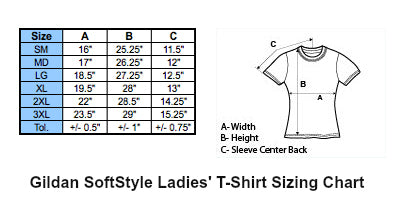 Snarky McF Button Co. Clothing Sizing Charts