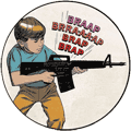 BRAP BRAP BRAP (M16 rifle graphic)