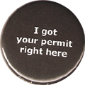 I got your permit right here