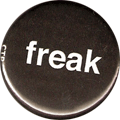 freak (larger small letters)