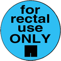 for rectal use ONLY