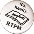 No.  Really.  RTFM.  (Read the fucking manual.)