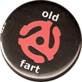 old fart (45 rpm record graphic)