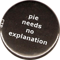 pie needs no explanation
