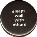 sleeps well with others