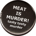 MEAT IS MURDER! tasty tasty murder