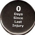 0 Days Since Last Injury