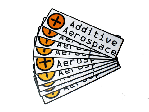Additive Aerospace Sticker