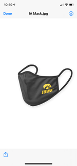 Non-Medical Face Covering IOWA final sale