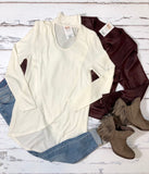 Cut-Out Layered Top