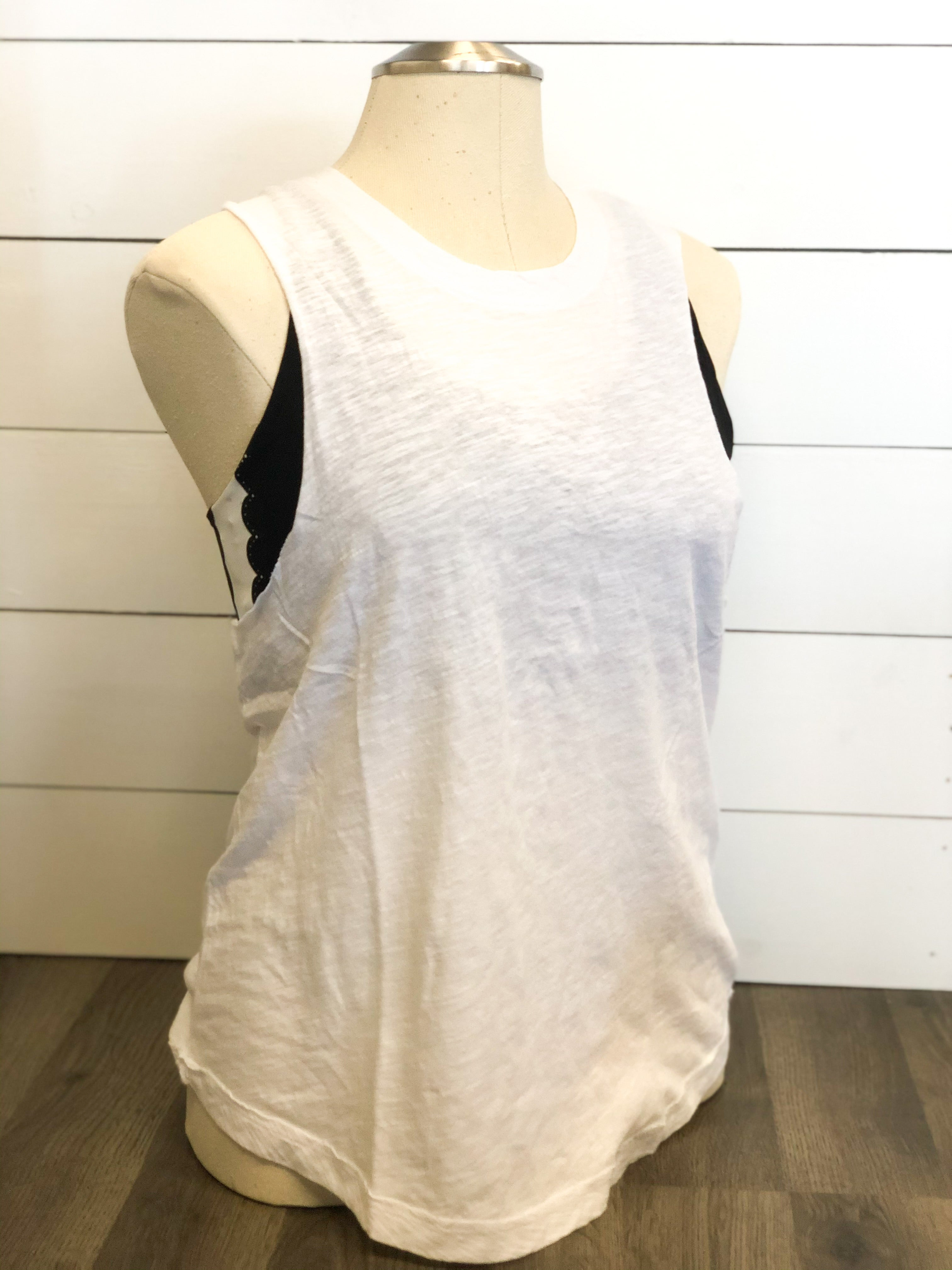 Ladder Back Muscle Tee