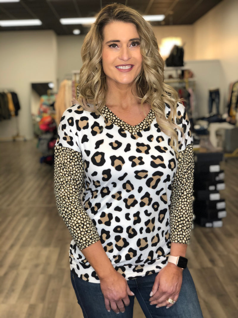 Double Cheetah Top W